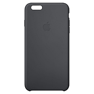 Carcasa iPhone 6 Plus silicona negra