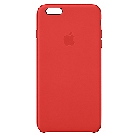 Carcasa iPhone 6 Plus silicona roja