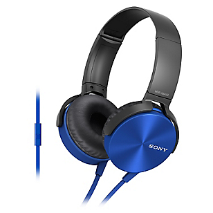 Audífonos Over Ear XB450 Azul