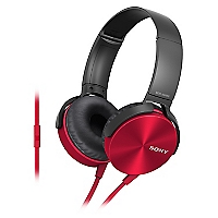 Audífonos Over Ear XB450 Rojo
