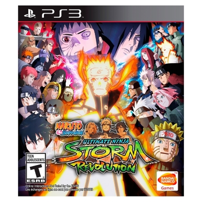 Naruto Ship Ultra Ninja Storm Revolution PS3