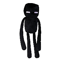 Peluche Core Enderman Negro