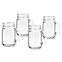 Set 4 Drinking Jar