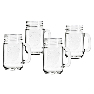 Set 4 Drinking Jar