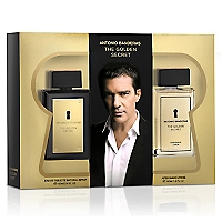 Set The Golden Secret EDT 100 ML + After Shave Lotion 100 ML
