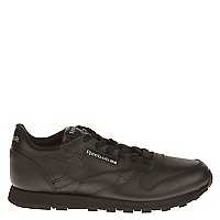 Zapatilla Unisex Classic Leather Negra 26-33