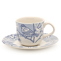 Taza de Café con Plato 12 cm