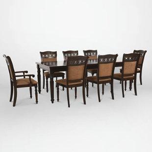 Juego de comedor le blanc 6 sillas 2 sitiales cic for Precios de comedores en vidrio