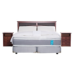 Box Spring Royal Sense King BD + Textil + Muebles
