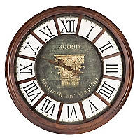 Reloj Antiguo Romano 82 x 82 cm