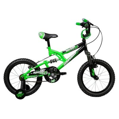 Bicicleta Aro 16 Raptor Verde / Negro