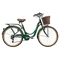 Bicicleta Aro 26 Metropolitan Verde