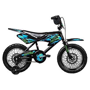 Bicicleta Aro 16 Moto Bike Bicolor