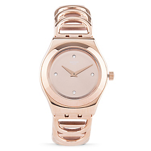 Reloj Mujer Acero Bronce YLG126G