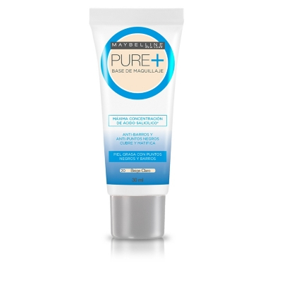 Base Maquillaje Maybelline Pure Plus 30ml