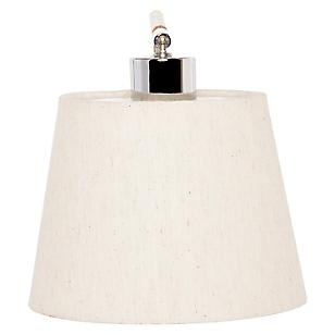 Lámpara Colgar Aplique Caja Cromo