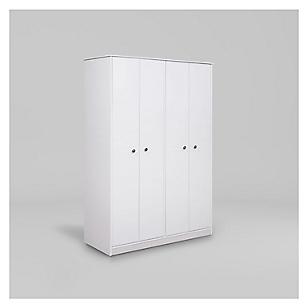 Clóset Lucerna 4 Puertas Blanco