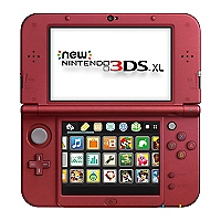 Consola New 3DS XL Roja