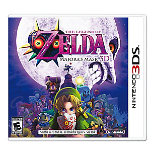 The Legend Zelda Majora´s Mask 3DS