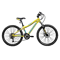 Bicicleta Aro 24 Rally Amarillo
