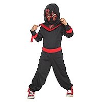 Disfraz Neon Ninka Disgu black