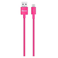Galaxy Power Cable Rosado