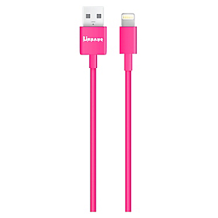 iPhone 5 Power Cable Rosado