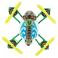 RC Mini Drone Luces Led Helic Max 1318