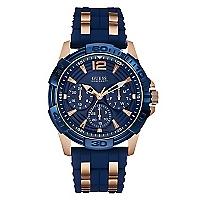 Reloj Hombre Acero Azul
