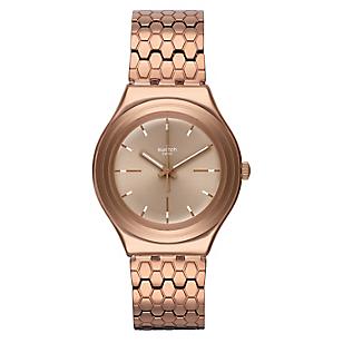 Reloj Unisex Acero Dorado