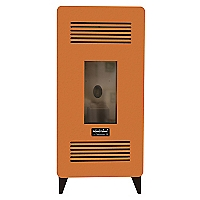 Estufa Pellet 7.5KW 7500 Orange