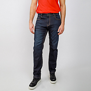 Jeans Hombre Tiro Medio Slim