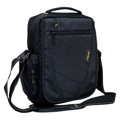 Bolso Laptop Euro Vertical M Negro Head