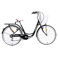 Bicicleta City Rider Negra