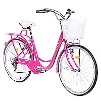 Bicicleta City Rider Rosada
