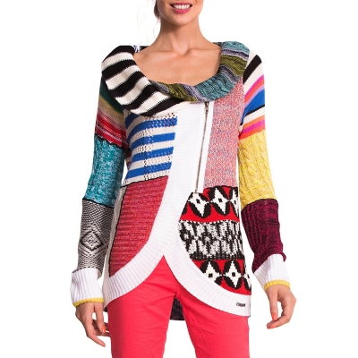 Sweater Cortes Multicolor