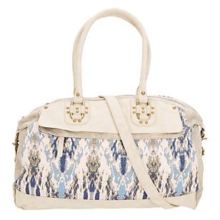 Cartera Estampada Blanca