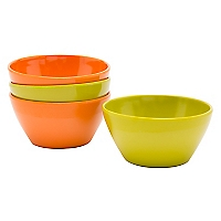 Set 4 Mini Bowls Melamina