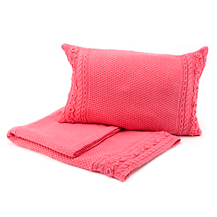 Piecera Luminosa Knitted Fucsia