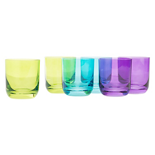Set 6 Vasos Burbuja Bajo Top