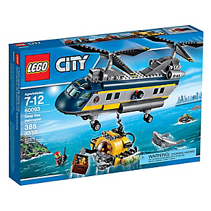 Deep Sea Helicopter City