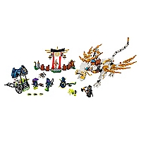 Juguete armable Master Wu Dragón Ninjago