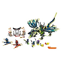 Juguete armable Attack Of The Moro Dragón Ninjago