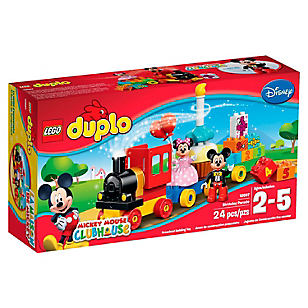 Mickey Y Minnie Birthday Parade Duplo