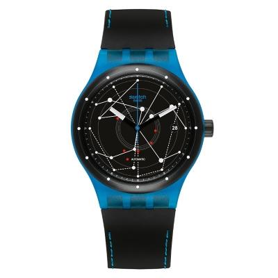 Reloj Hombre Resina Nego-Azul SUTS401