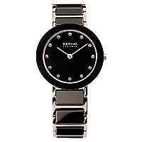 Reloj Mujer Negro-Gold Acero 11429-746