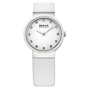 Reloj Mujer Blanco Cuero 10729-854