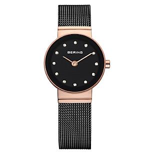 Reloj Mujer Acero Negro 10122-166