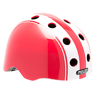 Casco Double Blanco/Rojo