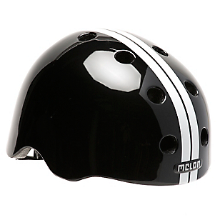 Casco Straight Negro/Blanco
